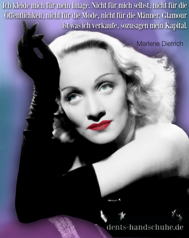 Marlene Dietrich quotagraphic and quote for sharing twitter and facebook glamou